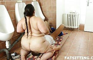 Trio de couple pervers fille nue brune avec un courtier immobilier chaud